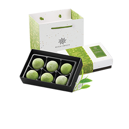Nama Mochi Matcha - 6 pieces